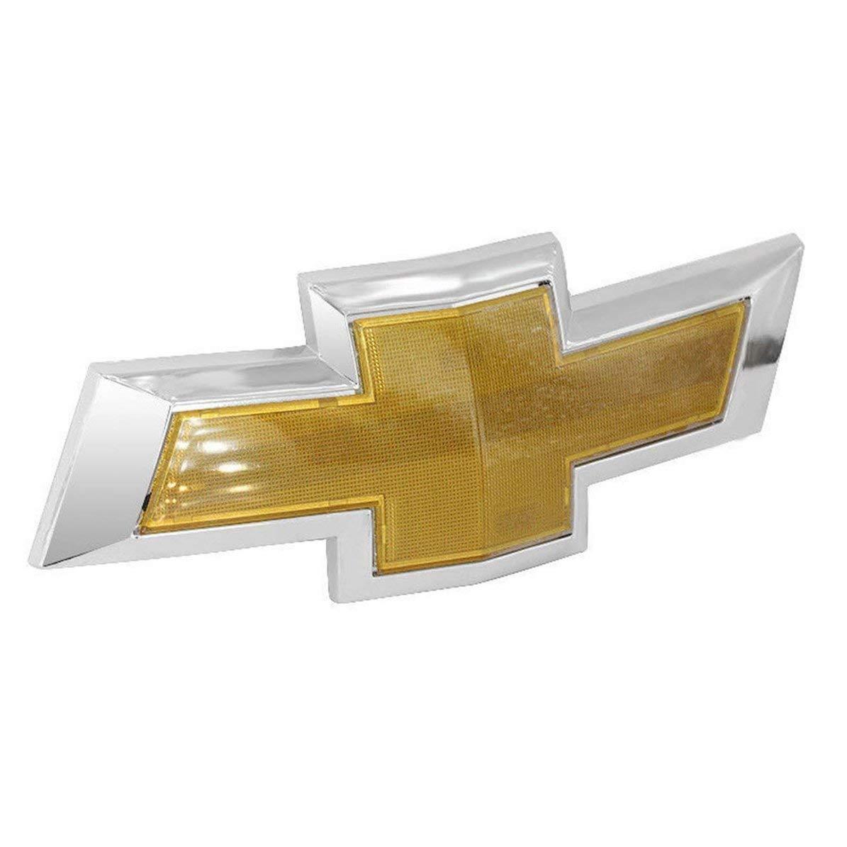 Corneliaa-DE Chrom-Logo-Zeichen-Auto-Fronthauben-Emblem-Namensschild f/ür Chevrolet Cruze