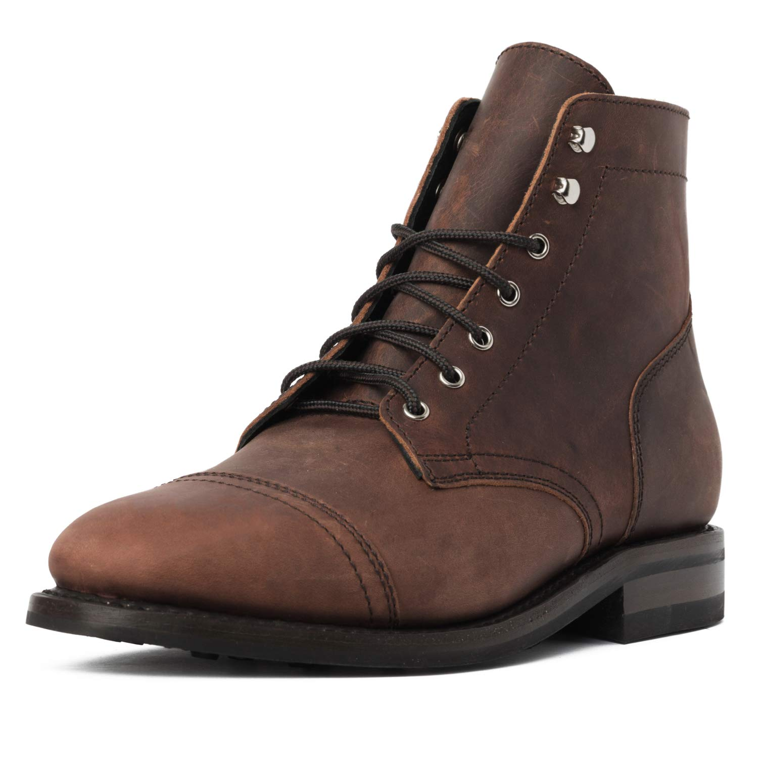 Thursday Boot Company Men's Rugged & Resilient Captain 6'' Lace-up Boot, Arizona Adobe