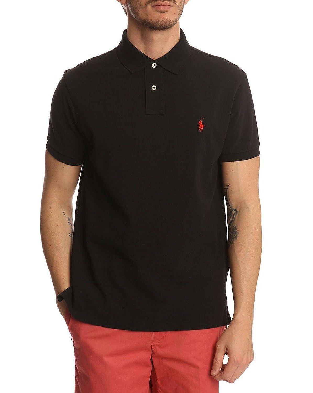 87a03ac09e3 Polo Ralph Lauren Men Custom Fit Mesh T-Shirt (Medium