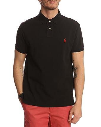 7969a8a7b0234e Image Unavailable. Image not available for. Color  Polo Ralph Lauren Men Custom  Fit Mesh T-Shirt ...