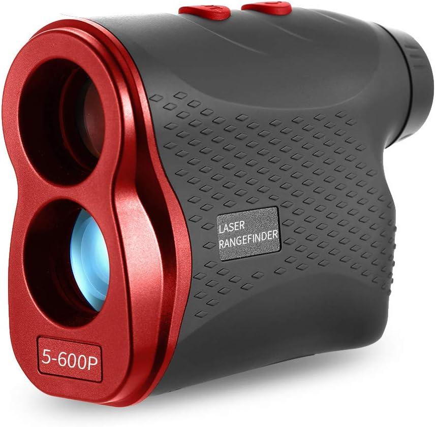Lixada Télémètres Golf, Multifonctionnel, 600 M/900 M, Distance Mètre Testeur de Vitesse Range Finder Numérique Chasse Mesure Monoculaire Télescope