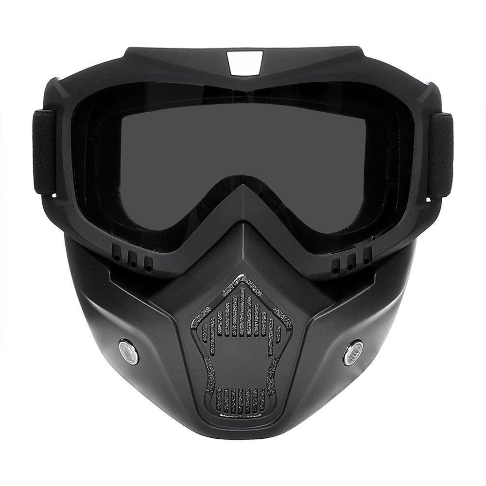 estilo 1 NOPNOG Gafas de moto desmontables para ciclismo esqu/í deportes