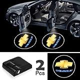 JOJOY LUX 2 Pack Car Door Lights Logo Projector, Universal Wireless Car Door Led Projector Lights, Upgraded Car Door…