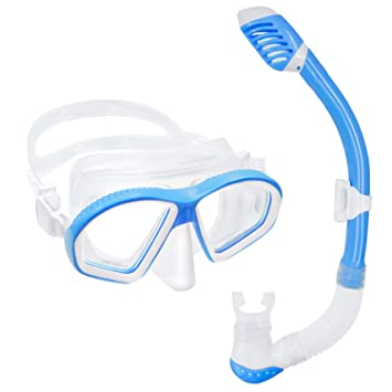 UPhitnis Set de Snorkel Niños - Anti-Niebla Pack de Snorkel, Kit ...
