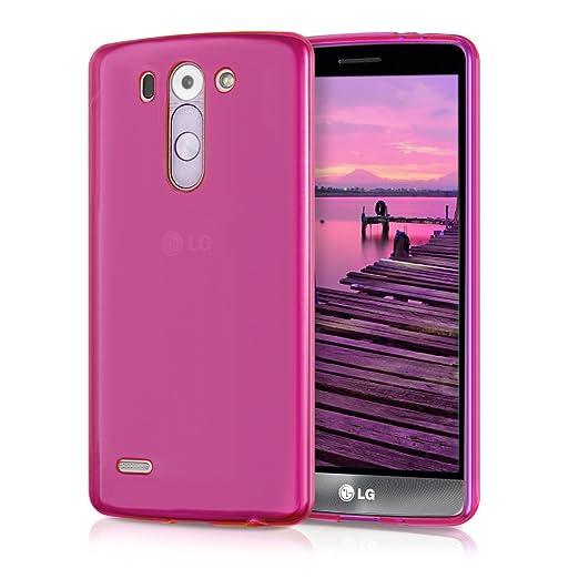 6 opinioni per kwmobile Cover per LG G3 S D722V- Custodia in silicone TPU- Back case protezione