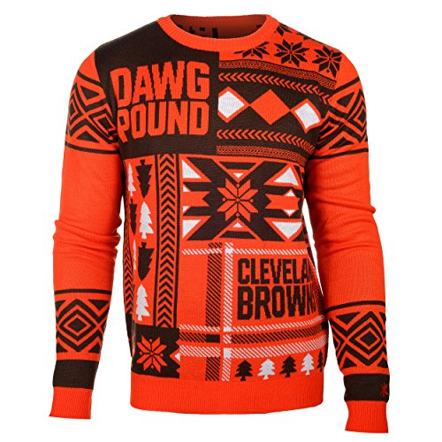 Cleveland Browns Ugly Sweater, Browns Christmas Sweater, Ugly ...