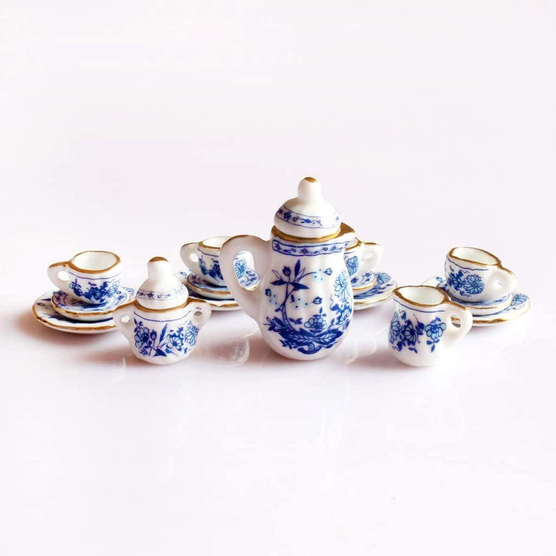 2pcs Mini Chinese Style Ceramic Bowls for 1//12 Dolls House Tableware White