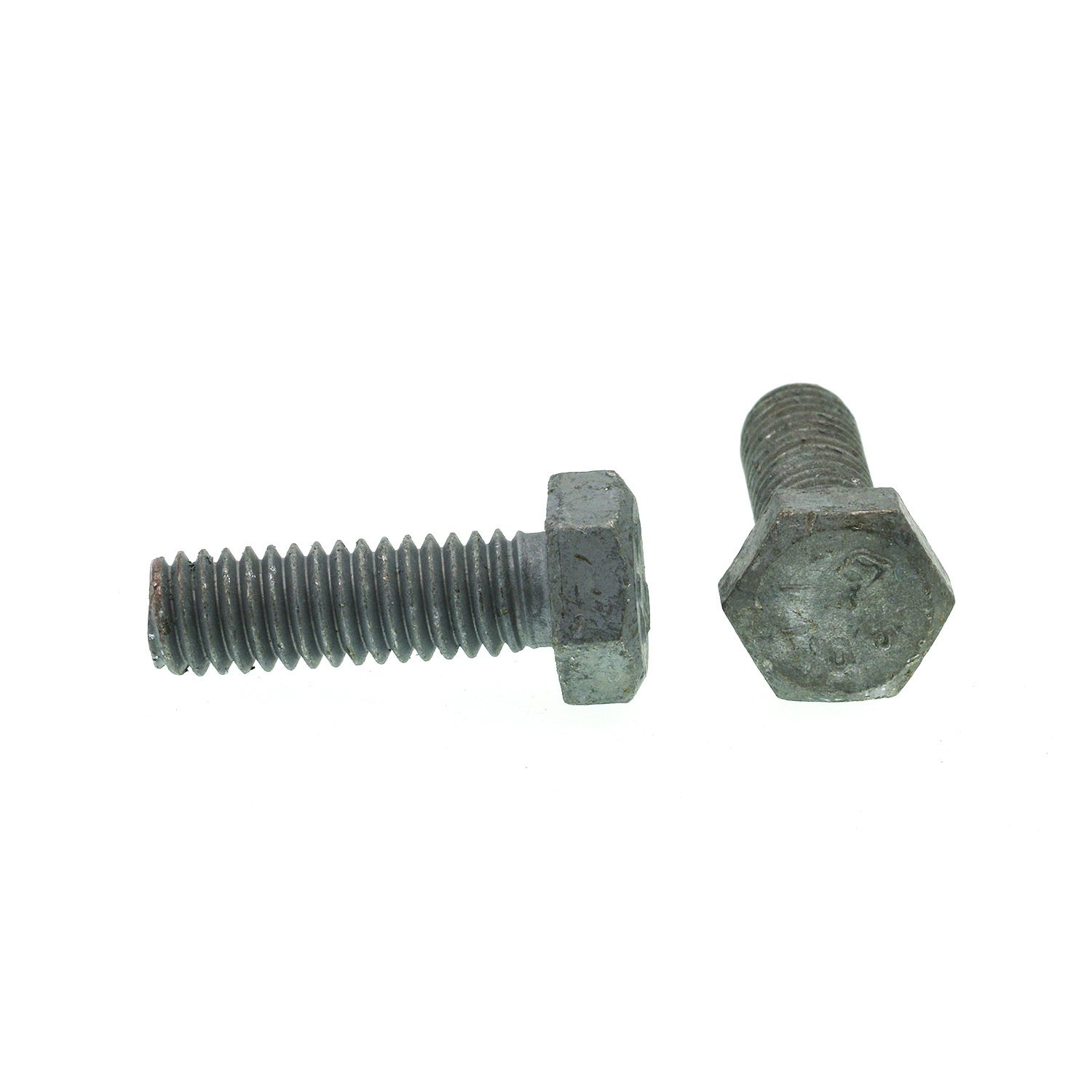 5//16 in.-18 X 1 in. A307 Grade A Hot Dip Galvanized Steel Prime-Line 9058973 Hex Bolts 25-Pack