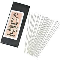 Embroiderymaterial Pony Beading Needles for Craft, Beading and Embroidery 1 Packet (25 Needles)