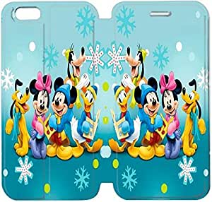 iPhone 6 6S 4,7 pulgadas funda DHPFGJOIY7923 Flip funda y Stand por iPhone 6 6S 4,7 pulgadas - COO PERSONAJES DISNEY MICKEY MOUSE DISEÑO