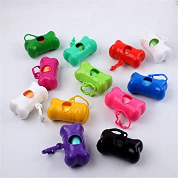 AAAAAE Pet Bolsa De Basura 6Pcs,Color Aleatorio: Amazon.es ...