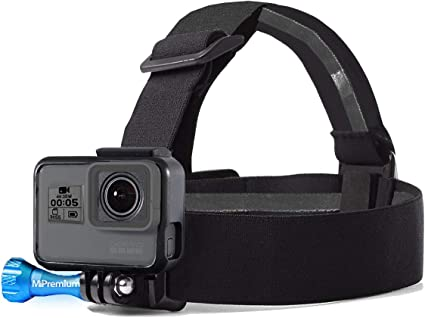 Head//Helmet Strap Mount For GoPro Fusion Action Camera