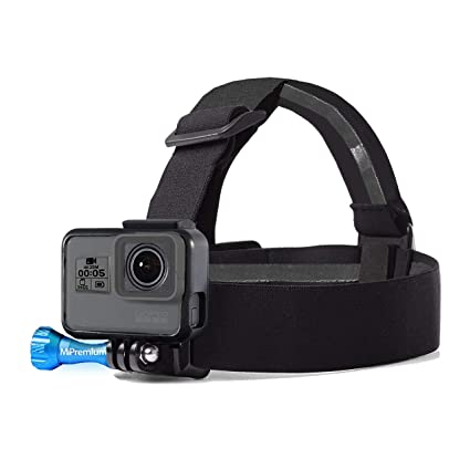 Amazon.com: MiPremium Head Strap Mount Compatible with GoPro ...