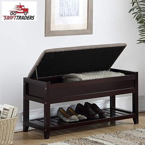 Amazon.com: Diseñado para la versatilidad Humes Shoe banco ...