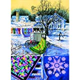 Amish Winter Jigsaw Puzzle