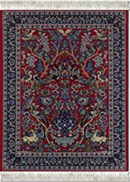 Lextra® (Tree of Life), MouseRug®, red, blues and white, 10.25\