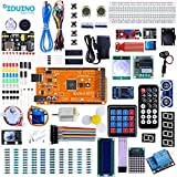 Iduino Mega 2560 Starter Kit For Arduino W/ 33 Lessons Tutorial Over 200pcs Complete Electronic Component Project Kits