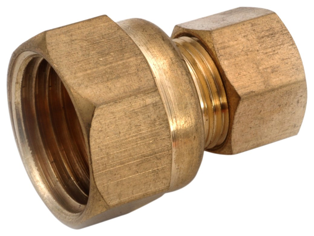 Anderson Metals 750066-0604 3/8-Inch by 1/4-Inch Compression Coupling Anderson Metals Corp.