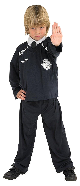 Amazon.com: Childrens Disfraz de policía Cops & bankräuber ...