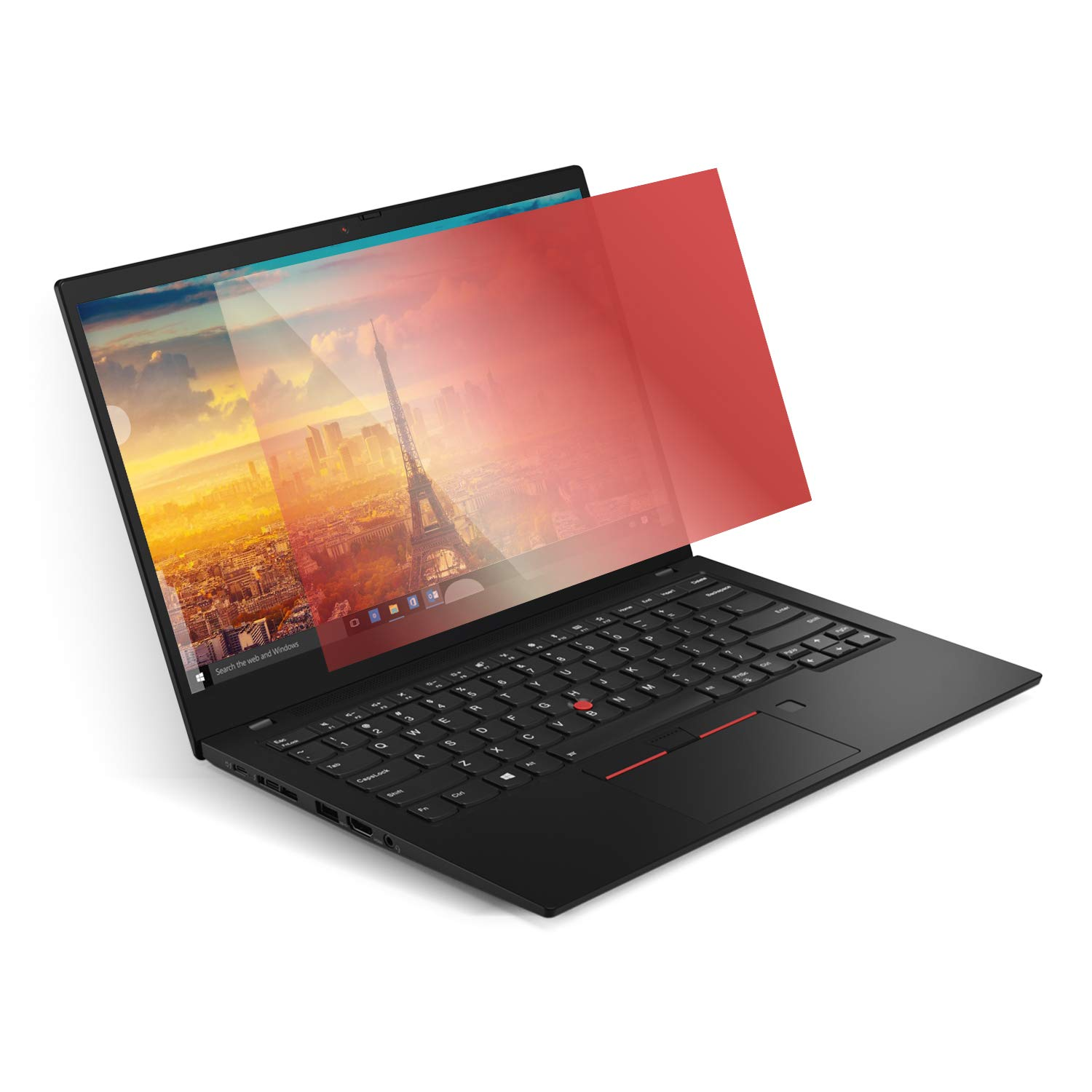 ZBRANDS // Rose Gold Privacy Filter for 14.0'' Laptops, Works with Lenovo X1 Carbon, Widescreen 16:9   Anti-Glare Filter Screen Protector