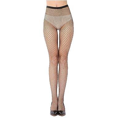 47df5b11a47ac Women Sexy Black Fishnet Net Pattern Burlesque Hoise Pantyhose Tights (Black  Medium Net): Amazon.co.uk: Clothing