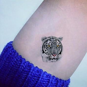 Tigre TAFLY Tatuajes Temporales Animal Patrón de transferencia ...