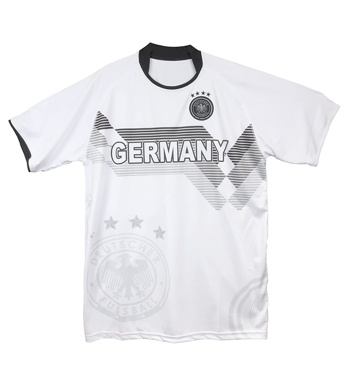 outlet store 49e57 bed71 Trendy Apparel Shop Germany National Team Home Logo Football ...