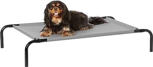 Amazon-Basics-Cooling-Elevated-Pet-Bed