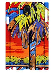 Simple Design Girly Oil Painting Theme High Impact Samsung Galaxy Note 3 N9005 Phone Case