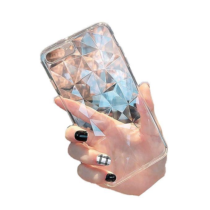 Amazon.com: 3D Diamond Cover Case TPU Casos para Xiaomi Mi 8 ...