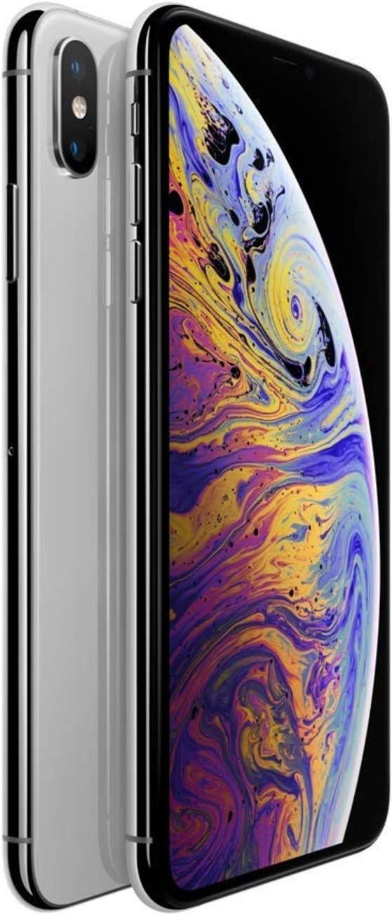 (Refurbished) Apple iPhone XS, US Version, 64GB, Silver - Unlocked
