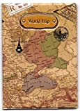 Skylly World Map 3D Passport Cover ~ NO more bent corners while Traveling ~ world trip