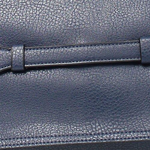 REGINA SCHRECKER BORSA DONNA SINTETICO M383-1 BLU NAVY
