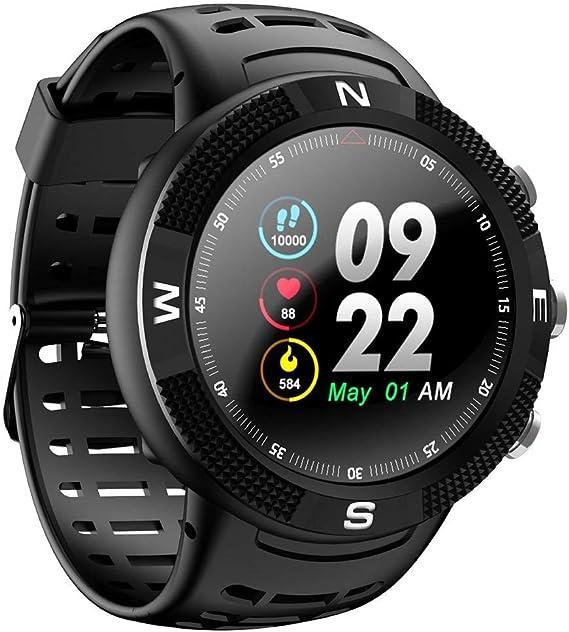 Amazon.com: DTNO.I NO.1 F18 Smartwatch Sports Bluetooth 4.2 ...