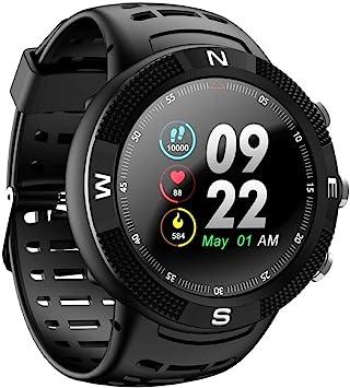Amazon.com: DTNO.I NO.1 F18 Smartwatch Deportes Bluetooth ...