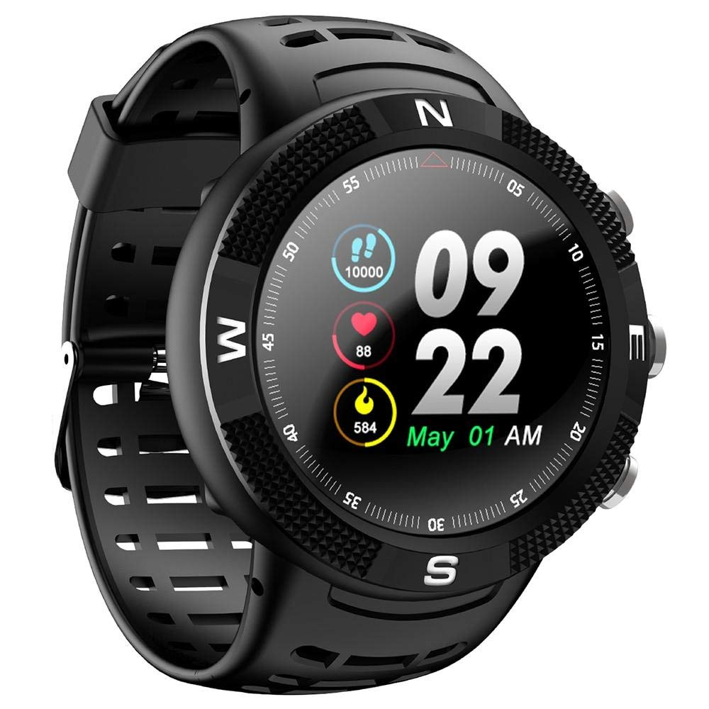 Amazon.com: DTNO.I NO.1 F18 Smartwatch Sports Bluetooth 4.2 ...