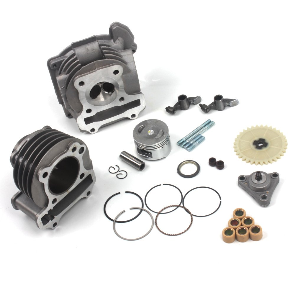 Wingsmoto 100cc Big Bore Kit For 64mm Valve Gy6 49cc Baja Sc50 Wiring Harness 50cc 139qmb Moped Scooter Engine 50mm Upgrade Set With Racing Cdi Ignition Coil