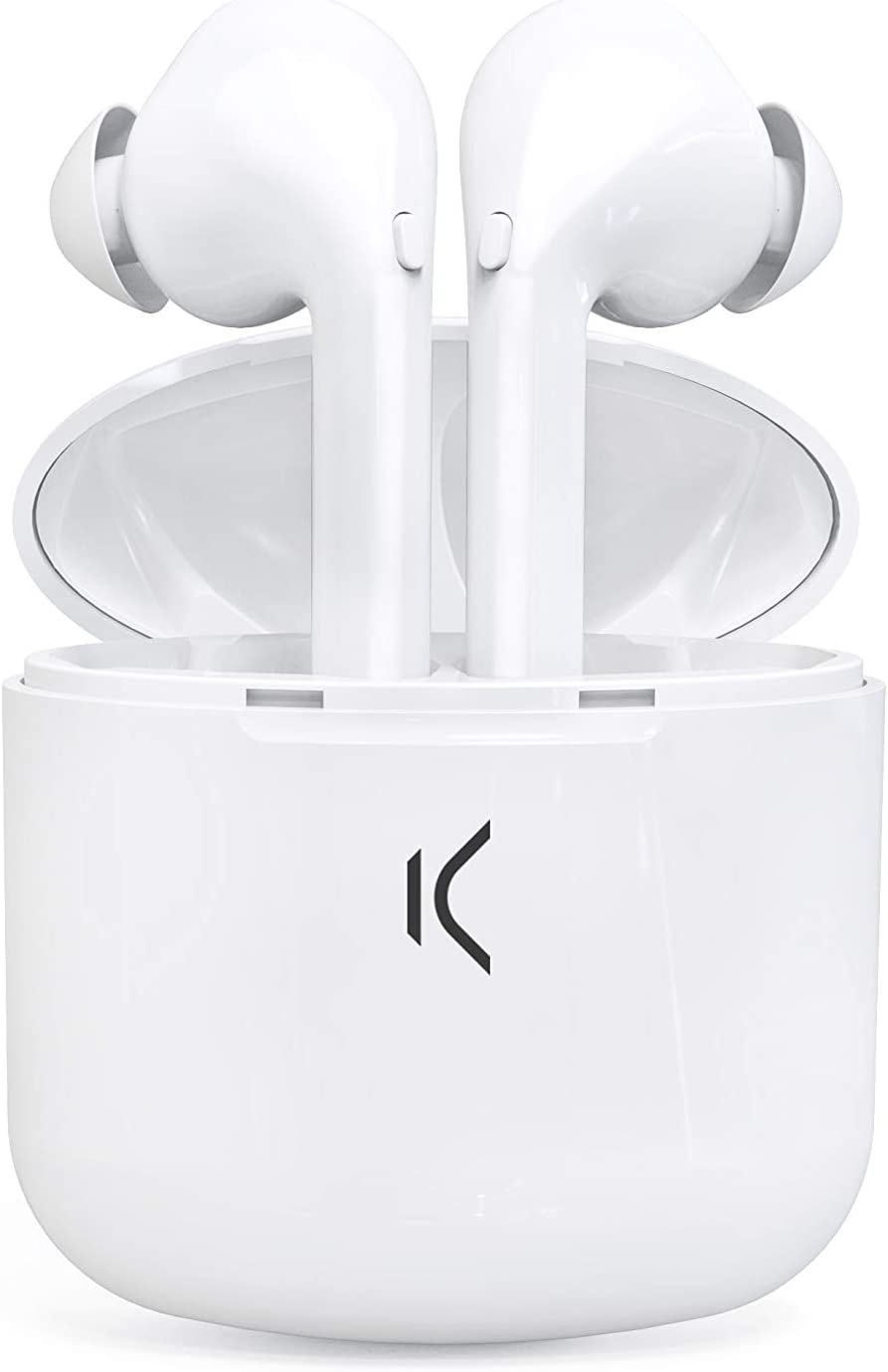 Ksix Auricular True Buds Bluetooth con MICROFONO Color Blanco