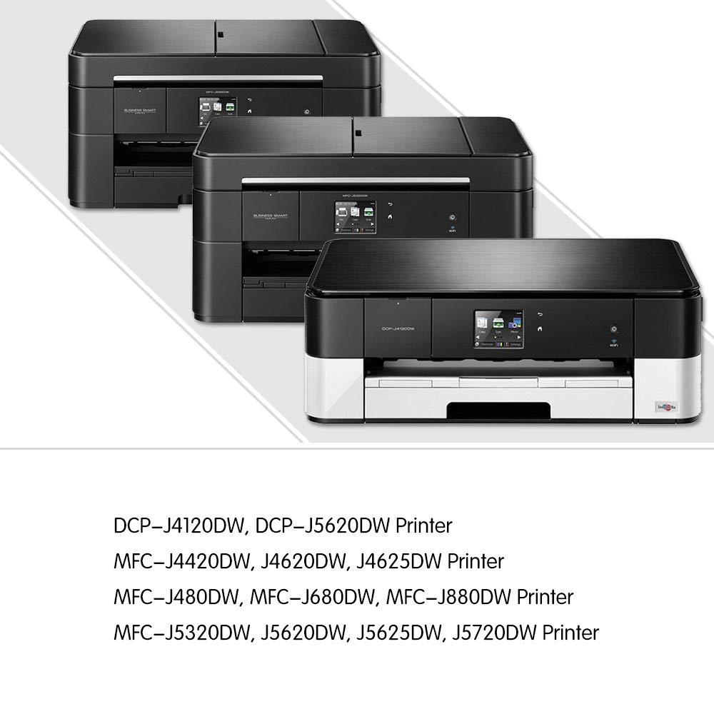 GPC Image Cartuchos de tinta Compatible Brother LC 223 XL (2 Negro ...