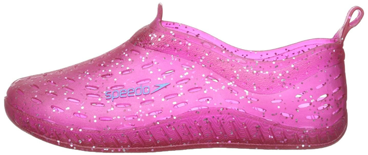Speedo Exsqueeze Me Jelly Glitter Water Shoes 5//6 US Toddler Small Toddler Fuchsia Glitter