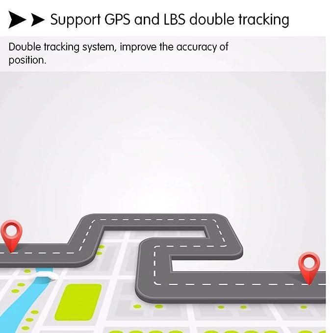 Amazon.com: Fsskgx Mini GPS Tracker, LBS en tiempo real GPRS ...