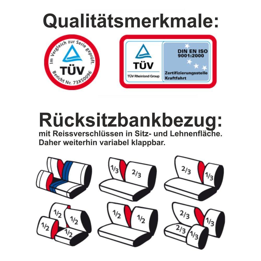 Universal Schonbezug Sitzbezug SPORT anthrazit RAU