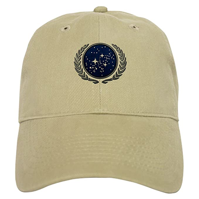274baf99d3469 CafePress - StarTrek UFP Stone - Baseball Cap with Adjustable Closure