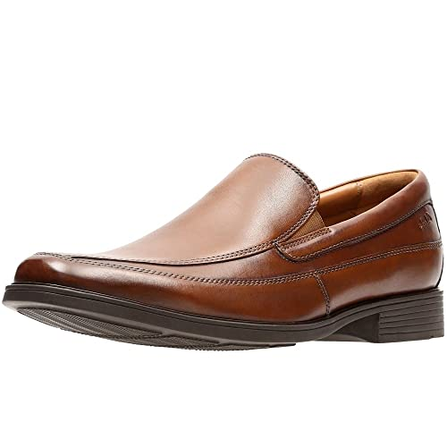 Tilden Way, Mocasines para Hombre, Marrón (Tan Leather), 41.5 EU Clarks