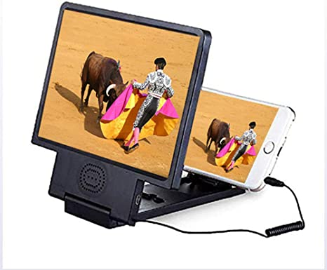 YOLE 3D Smartphone Pantalla Lupa, Pantalla ampliadora para ...