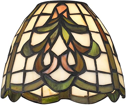 Dome Tiffany Glass Shade – 1-5 8-inch Fitter