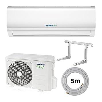 Split Klimaanlage Kaisai Eco 2 Set mit Zubehör - A++ / A+ - 12000 ...