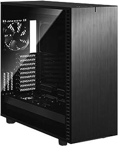 Fractal Design Define 7 XL Black Brushed Aluminum/Steel E-ATX Silent Modular Tempered Glass Window Full Tower Computer Case