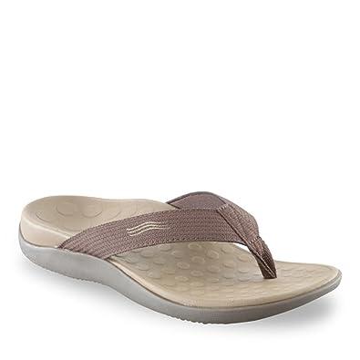 a7410b7ca0b0 Orthaheel Unisex Wave 2 Thong Unisex Chocolate Sandals Men s 5