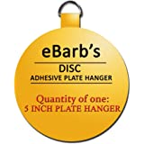 "eBarb's ""The Original"" English Plate Hanger Disc--a quantity of ONE 5 Inch Hanger"